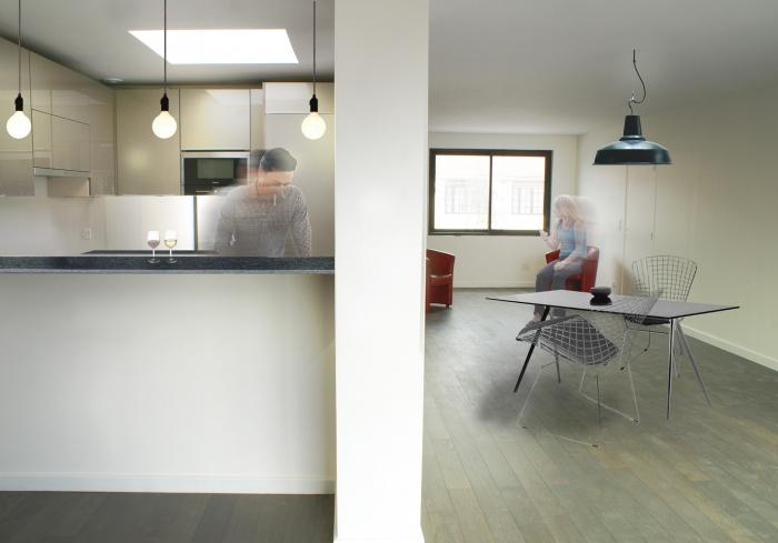 extension de maison bois d 39 arcy une r alisation de marine puissant. Black Bedroom Furniture Sets. Home Design Ideas
