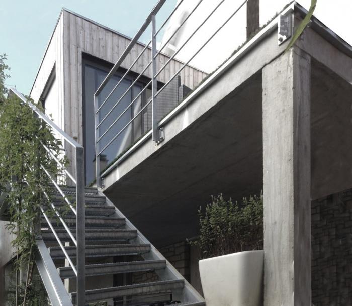 Extension de maison : Terrasse jardin