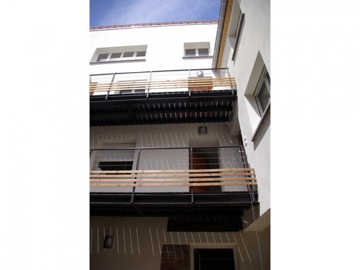 Réhabilitation, extension et surélévation d'un immeuble insalubre - Meaux : 01.Photo réalisé 2