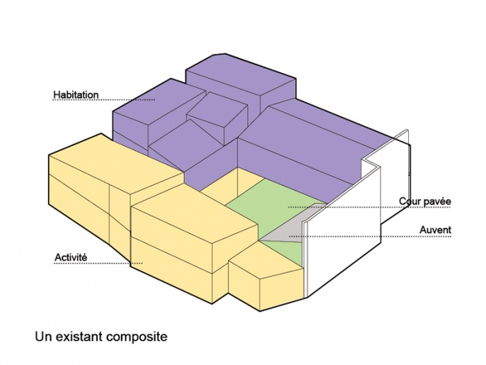 Réhabilitation, extension et surélévation d'un immeuble insalubre - Meaux : 06.SCHEMAS AXOS1