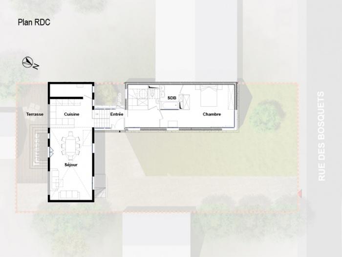 Architectes r novation extension maison - Extension prefabriquee ...