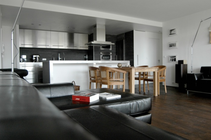 plan appartement open space