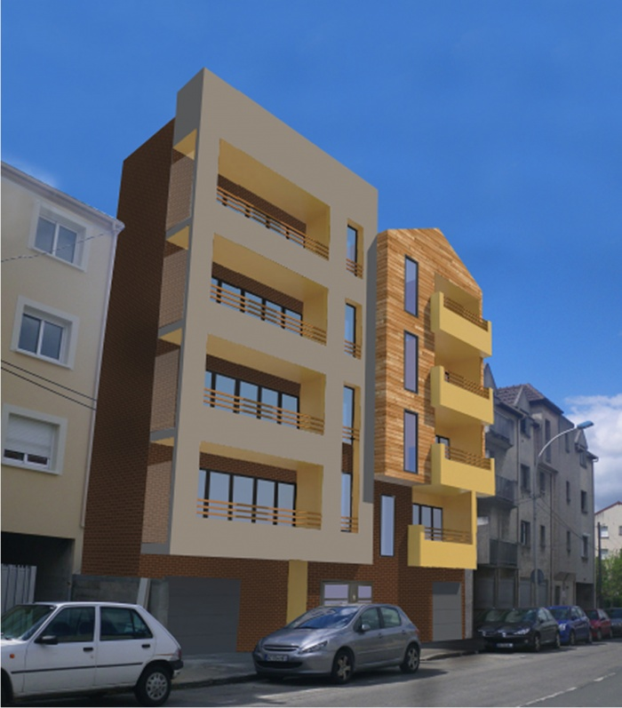 Logements collectifs blanc mesnil le une r alisation for O architecture brest