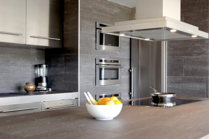 Appartement en open space : cuisine