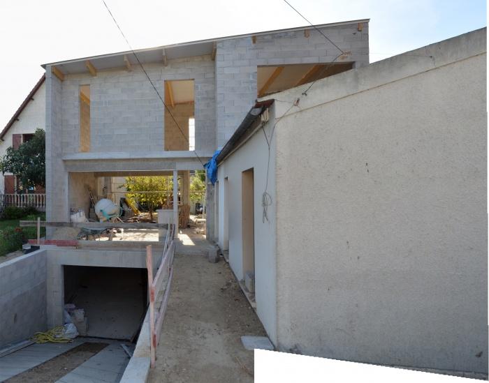 Sur l vation extension et r am nagement d 39 une maison 94 for O architecture brest