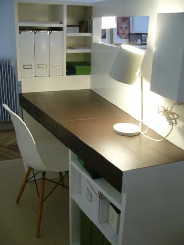 architectes chambre bureau contemporains dans appartement classique paris. Black Bedroom Furniture Sets. Home Design Ideas