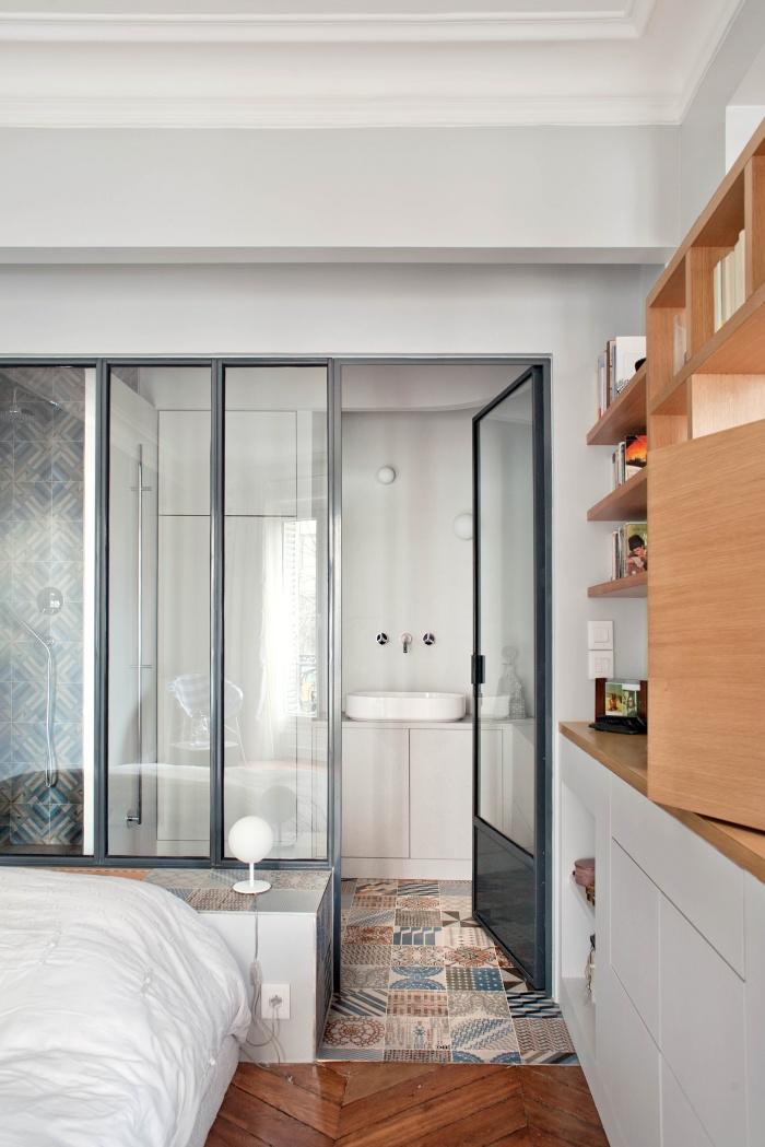 appartement l paris une r alisation de olivier chabaud. Black Bedroom Furniture Sets. Home Design Ideas