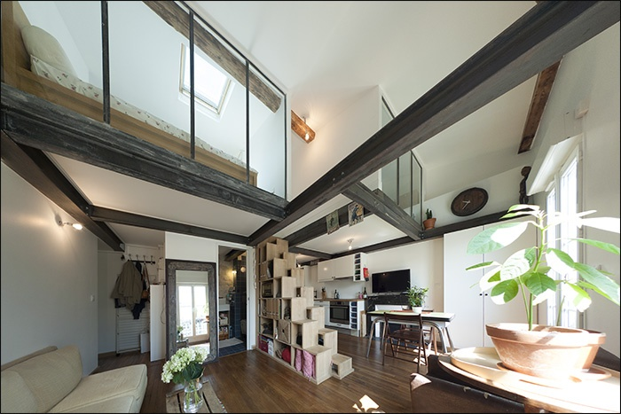 architectes trouver votre architecte loft maison bois contemporaine. Black Bedroom Furniture Sets. Home Design Ideas