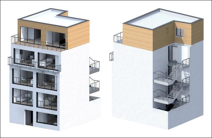 MiNiMaBuilding / Construction immeuble 93
