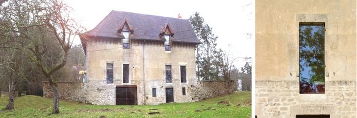 Maison V_Rénovation lourde d'une écurie en maison : maison_Villand bande5