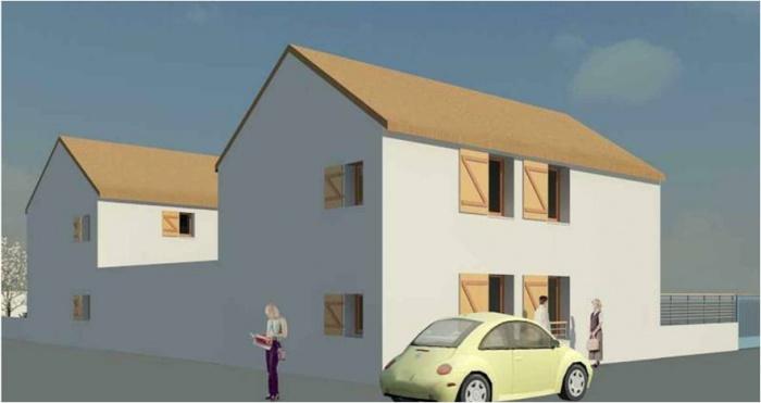 Projet de création de trois logements avec réhabilitation