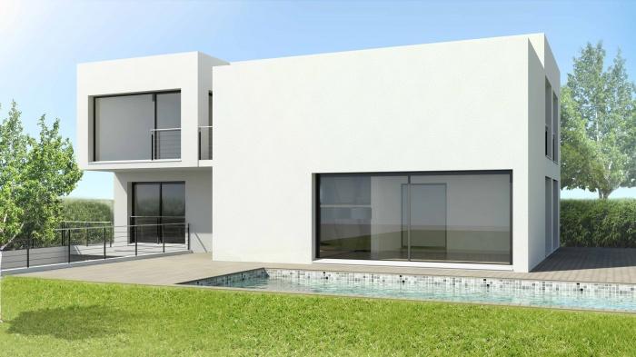 Maison contemporaine à Boissy-St-Léger (94) : perspective2-maison-contemporaine-bsl-94