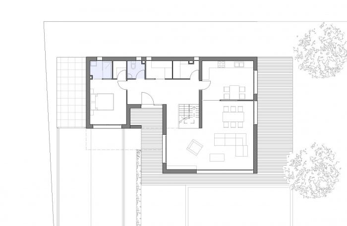 Maison contemporaine à Boissy-St-Léger (94) : plan-rdc-maison-contemporaine-bsl-94