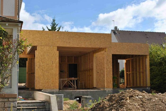 Extension de maison LSS (77) : photo-1-chantier-extension-maison-bois-lss-77.JPG