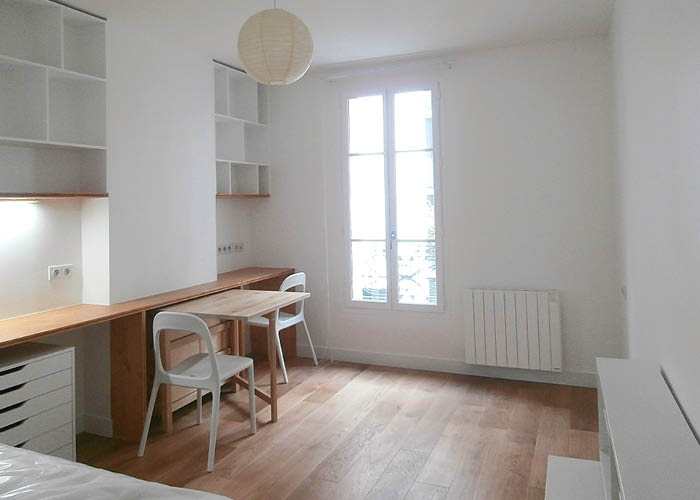réaménagement d'un appartement 27m²