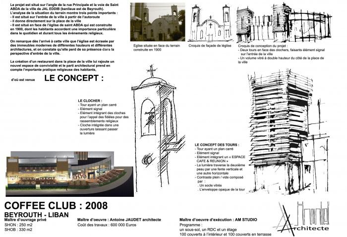architectes restaurant d 39 entreprise du siege. Black Bedroom Furniture Sets. Home Design Ideas