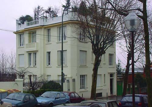 Ravalement d'une façade en béton