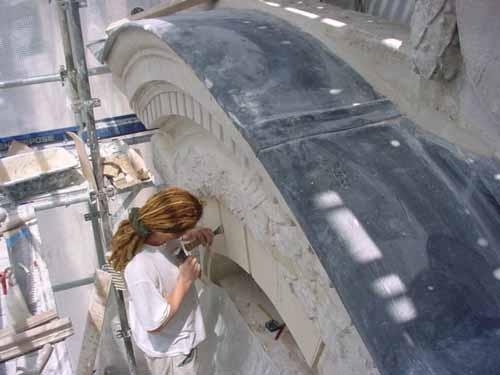 Restauration d'une façade en pierre