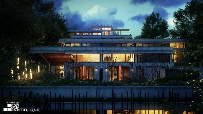 Malcolm nouvel architecte paris r alisations et contact for Nouvel architecte