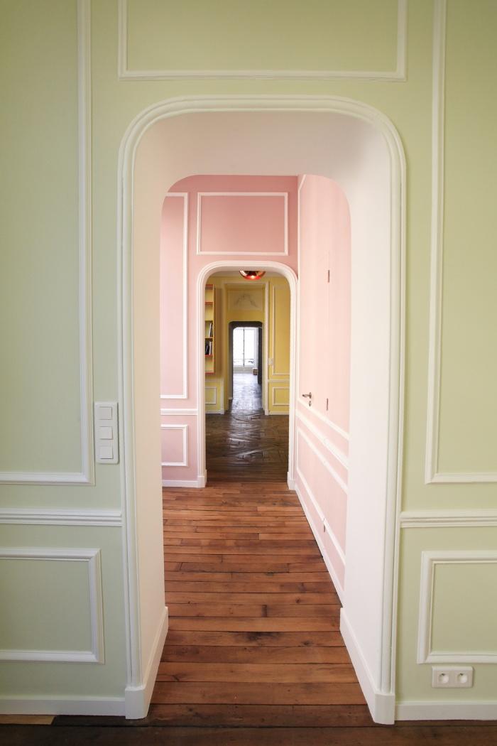 architectes r novation int rieure rue de turenne paris. Black Bedroom Furniture Sets. Home Design Ideas