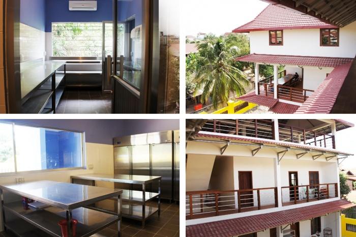 Construction d'une école avec atelier de pâtisserie à Angkor (Cambodge) : 03
