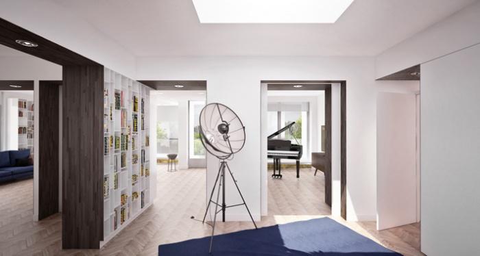 r novation appartement boulogne boulogne billancourt une r alisation de thibaut lemarchand. Black Bedroom Furniture Sets. Home Design Ideas