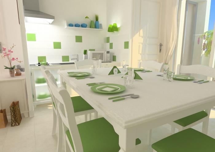 Résidence de tourisme 4 étoiles : Cuisine - appartements1