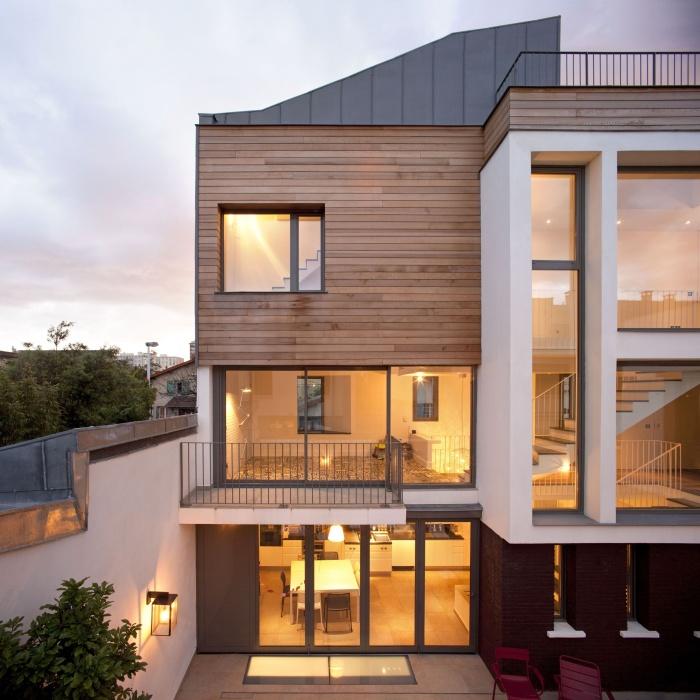 Architectes trouver votre architecte loft - Maison de ville architecture contemporaine ...