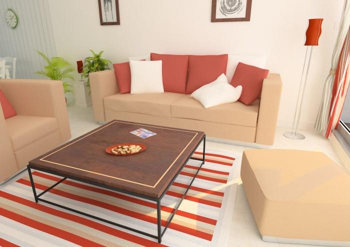 Résidence de tourisme 4 étoiles : Salon - appartements1