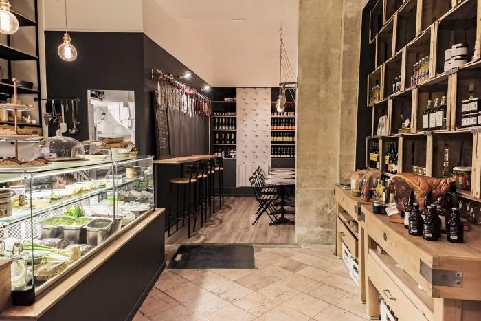 Restaurant_Chéri Charlot et épicerie fine Paris 9e