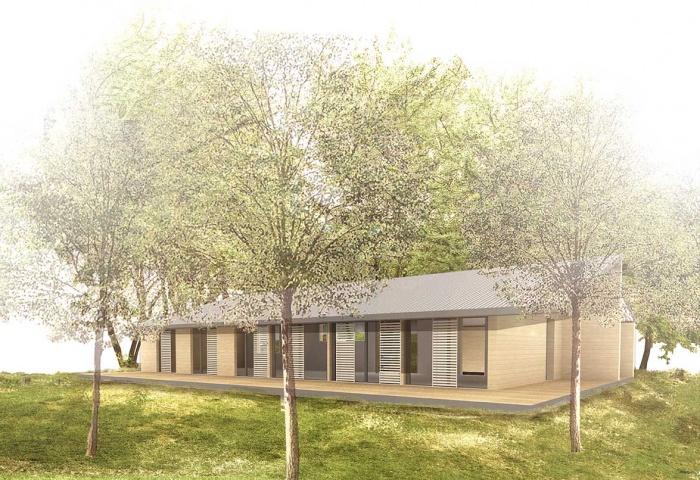 Maison L_ossature bois