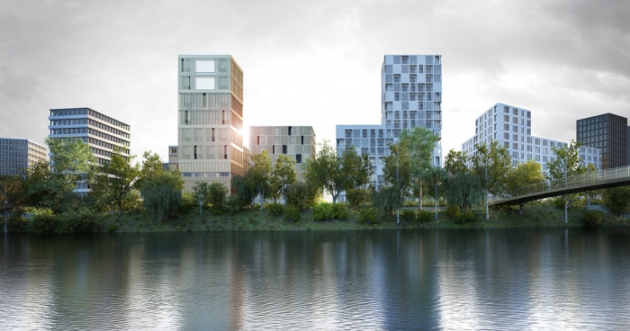 architectes 124 lgt collectifs rennes lan architecture rennes. Black Bedroom Furniture Sets. Home Design Ideas