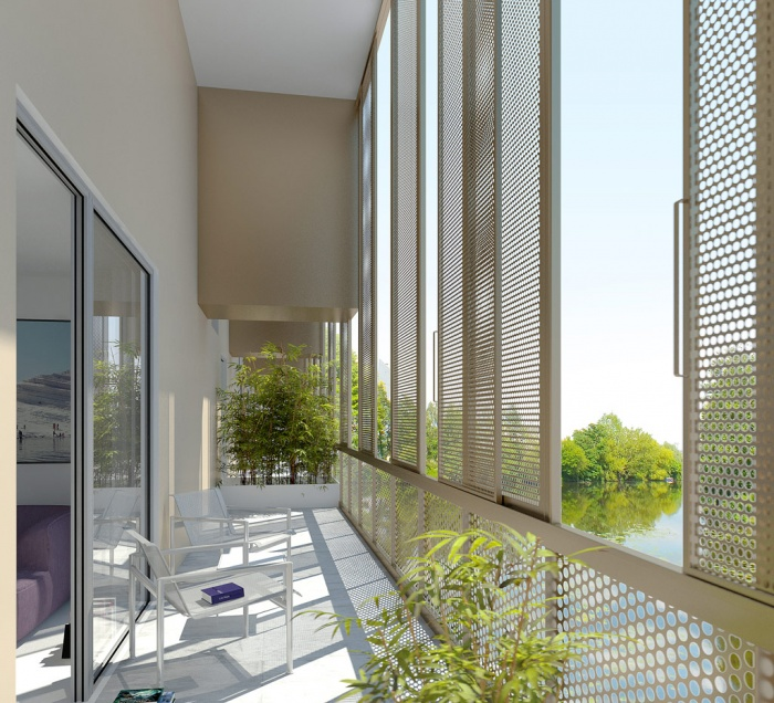 124 lgt collectifs - Rennes - LAN architecture