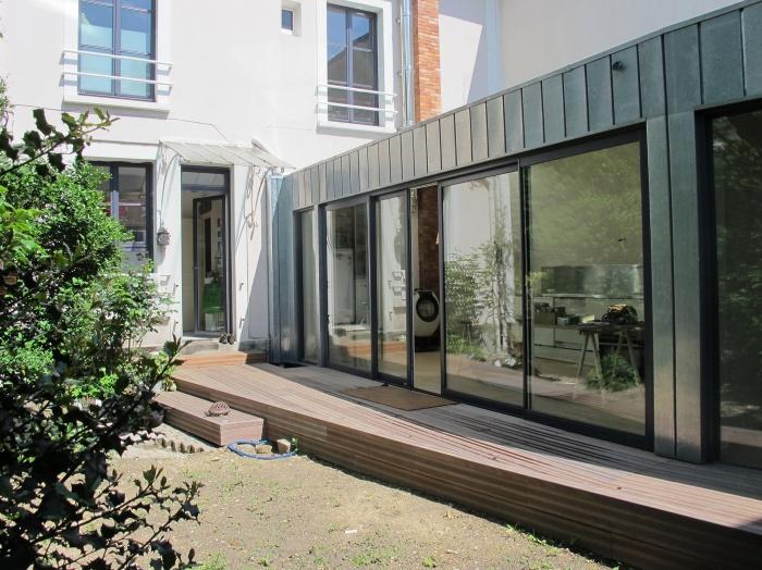 Architectes projet de maison container for Projet container