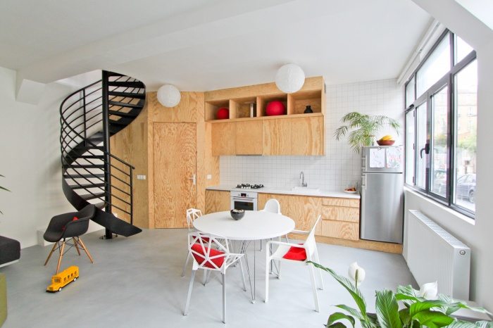 The wall - Aménagement intérieur