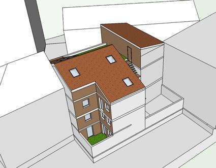 Habitat groupé de 6 logements : 7