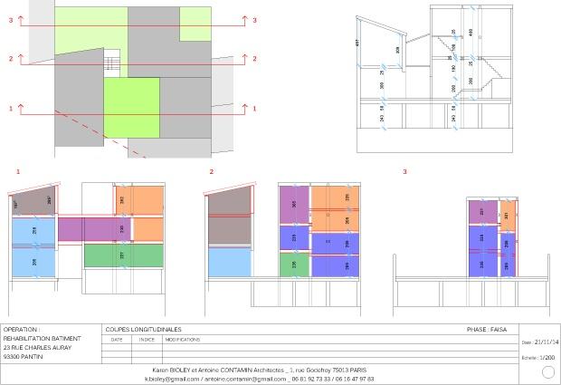 Habitat groupé de 6 logements : 8