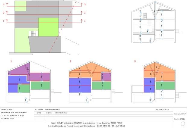 Habitat groupé de 6 logements : 9
