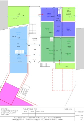 Habitat groupé de 6 logements : 10