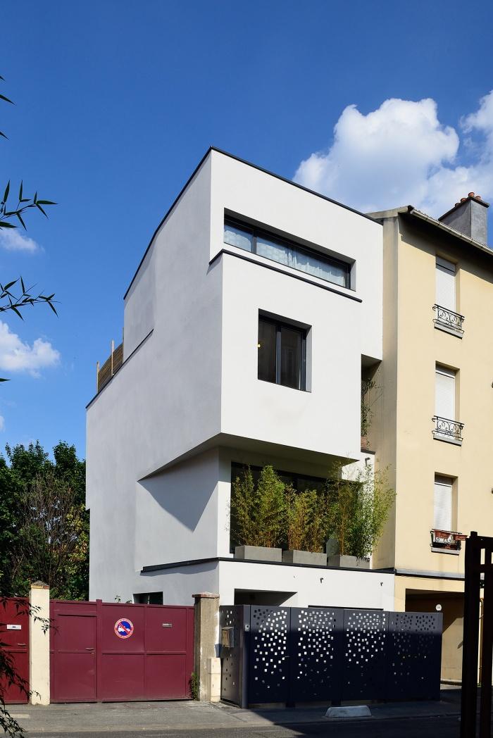 Architectes maison individuelle cr teil for Architecte bordeaux maison individuelle