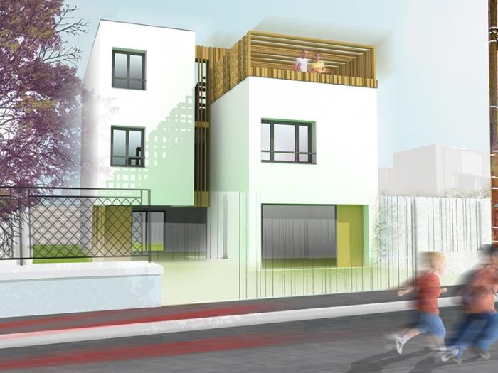 Maison neuve contemporaine COS1 - Nanterre