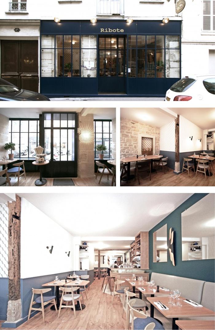 Restaurant_Ribotte à Neuilly : dccp-architecte_restaurant-le-ribote-a
