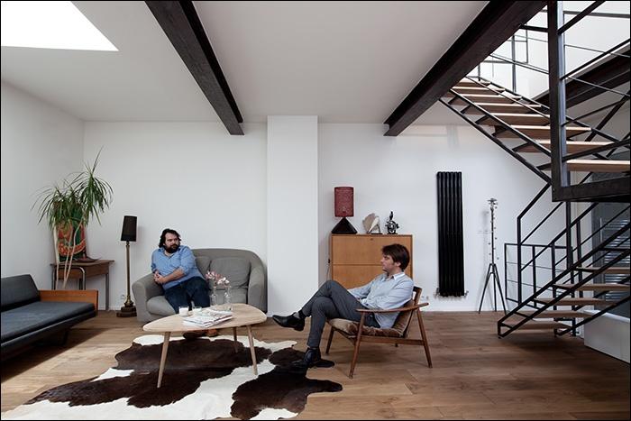 whatAloft / Création de loft Paris 18