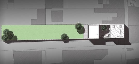 House CZW9 : PLAN DE MASSE GRIS