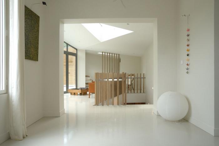 Maison dans le jardin : Salon