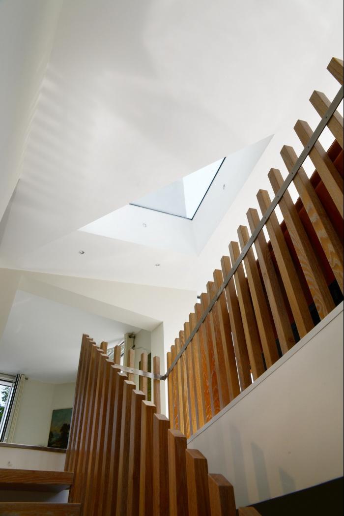 Maison dans le jardin : Escalier