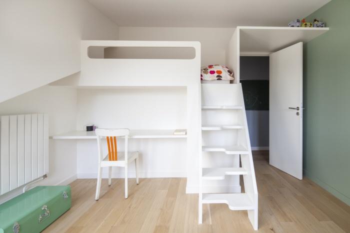 Surélévation des combles d'un appartement : LR-0083