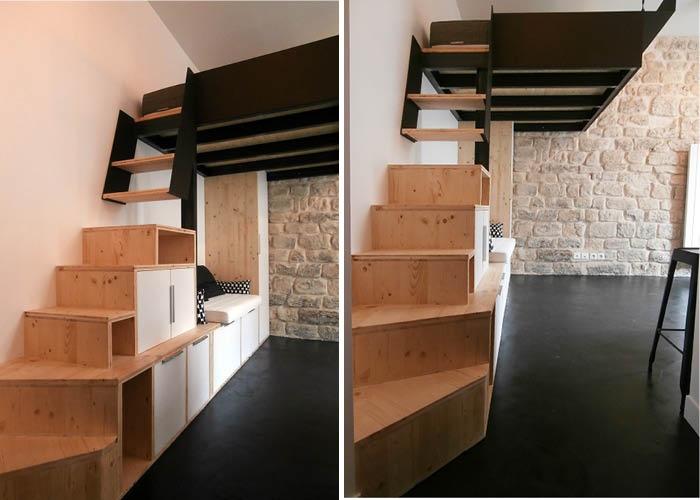 studio 18m²_Paris 18ème