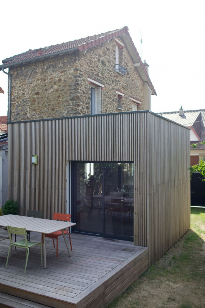 extension d'une maison