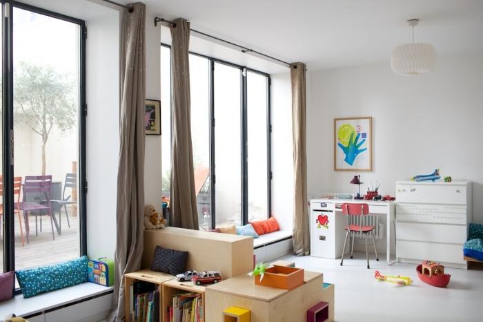 Loft familial avec terrasse : 11